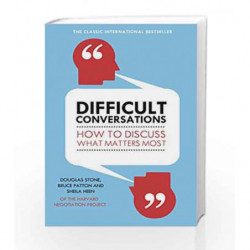 Difficult Conversations by Sheila Heen Book-9780670921348