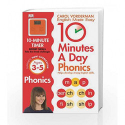 10 Minutes A Day Phonics KS1 (Carol Vorderman's English Made Easy) by Carol Vorderman Book-9781409341413