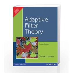 ADAPTIVE FILTER THEORY by HAYKIN Book-9788131708699