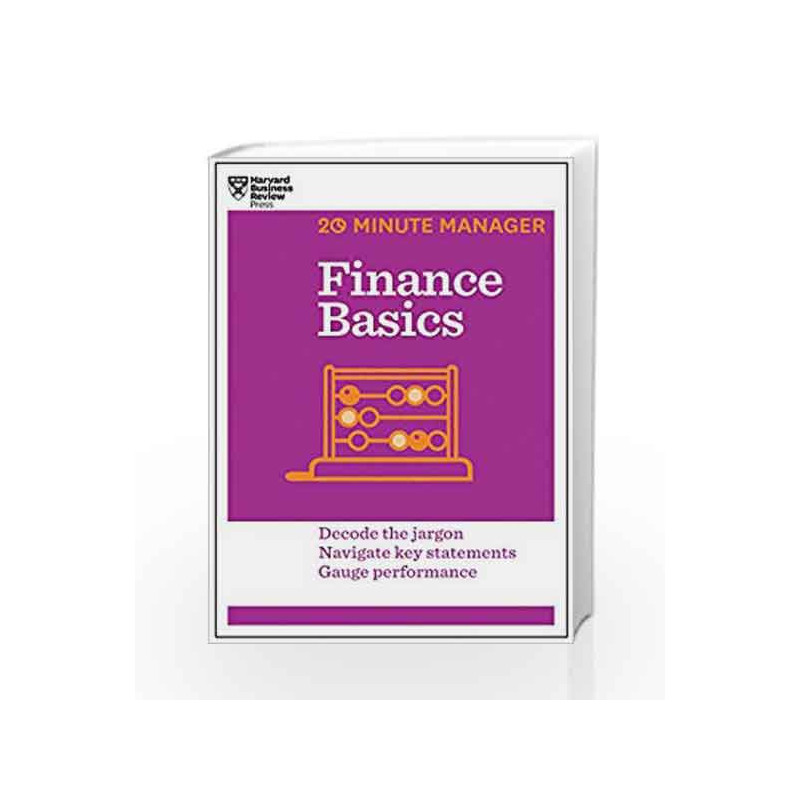 Finance Basics (20-Minute Manager) by NA Book-9781625270856