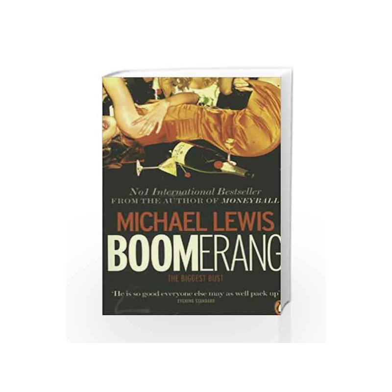 Boomerang: The Meltdown Tour by Michael Lewis Book-9780141975016