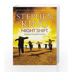 Night Shift by Stephen King Book-9781444723199