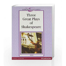 LC: Three Great Plays of Shakespeare by Longman Book-9788131710708