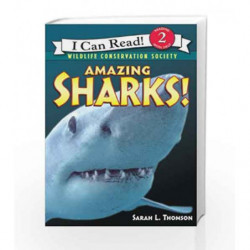Amazing Sharks! (I Can Read Level 2) by Sarah L. Thomson Book-9780439866675