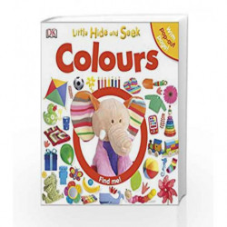 Little Hide and Seek: Colours by DK Book-9781409348801