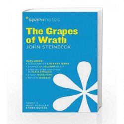 The Grapes of Wrath SparkNotes Literature Guide by Steinbeck, John Book-9781411469556