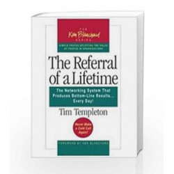 The Referral of a Lifetime by TEMPLETON TIM Book-9781609947088