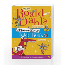 Roald Dahl's Marvellous Joke Book by Roald Dahl Book-9780141340555