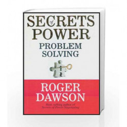 Secrets of Power Problem Solving by Roger Dawson Book-9788182745346