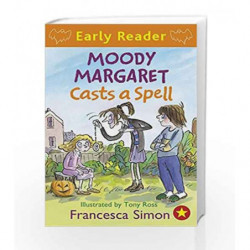 Moody Margaret Casts a Spell: Book 18 (Horrid Henry Early Reader) by Francesca Simon Book-9781444001174