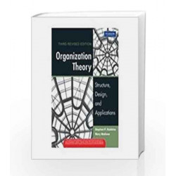 Organization Theory: Structure, Design, and Applications, 3e by Robbins / Mathew Book-9788131717301
