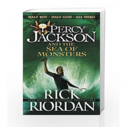 Percy Jackson and the Sea of Monsters by Rick Riordan Book-9780141346847