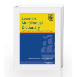 Learner's Multilingual Dictionary: English-English-Kannada/Malayalam/Tamil/Telugu, 1e by RIE Book-9788131718735
