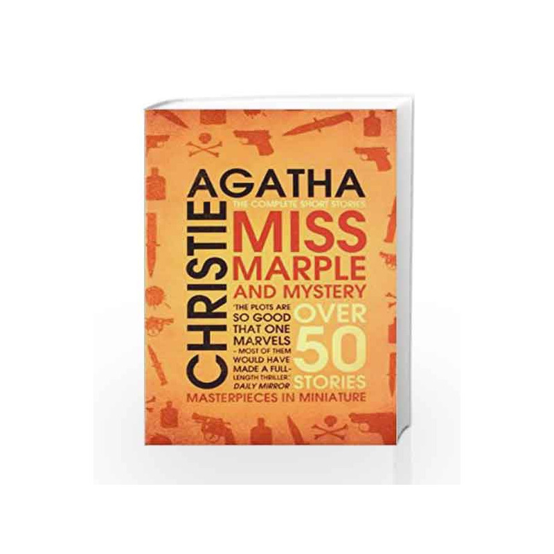 Miss Marple and Mystery: The Complete Short Stories by Agatha Christie-Buy  Online Miss Marple and Mystery: The Complete Short Stories Book at Best