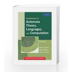 Introduction to Automata Theory, Languages, and Computation, 3e by Hopcroft Book-9788131720479
