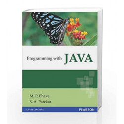 Programming with Java by Mahesh Bhave Book-9788131720806