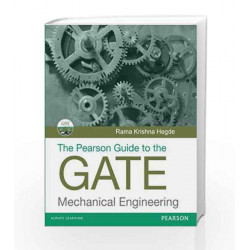 Pearson Guide to the GATE - Mechanical Engineering by R Hegde Book-9788131721346