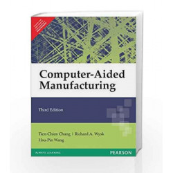 Computer-Aided Manufacturing, 3e by Chang Book-9788131721643