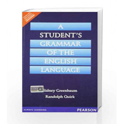 A Students Grammar of the English Language, 1e by Greenbaum Book-9788131721988