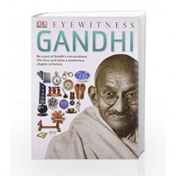 DK Eyewitness: Gandhi (Eyewitness Guides) by NA Book-9781409348221