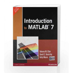 Introduction to Matlab 7, 1e by Etter Book-9788131723135