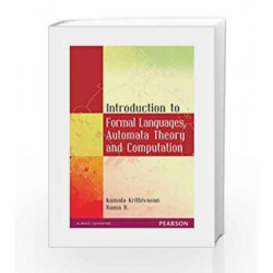 Introduction to Formal Languages, Automata Theory and Computation, 1e by Krthivasan Book-9788131723562