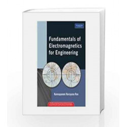 Fundamentals of Electromagnetics for Engineering, 1e by Rao Book-9788131724156