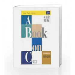 A Book on C by Kelley Book-9788131724347