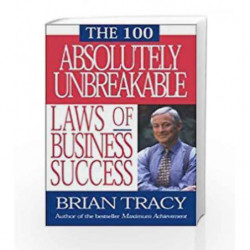 The 100 Absolutely Unbreakable by BRIAN TRACY Book-9781626563216