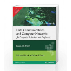 Data Communications and Computer Networks for Computer Scientists and Engineers by  Book-9788131726082