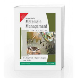 Introduction to Materials Management, 6e by Arnold Book-9788131726273