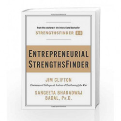 Entrepreneurial StrengthsFinder by CLIFTON JIM Book-9781595620828