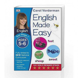 English Made Easy: Key Stage 1 (Carol Vorderman's English Made Easy) by Vorderman, Carol Book-9781409344643
