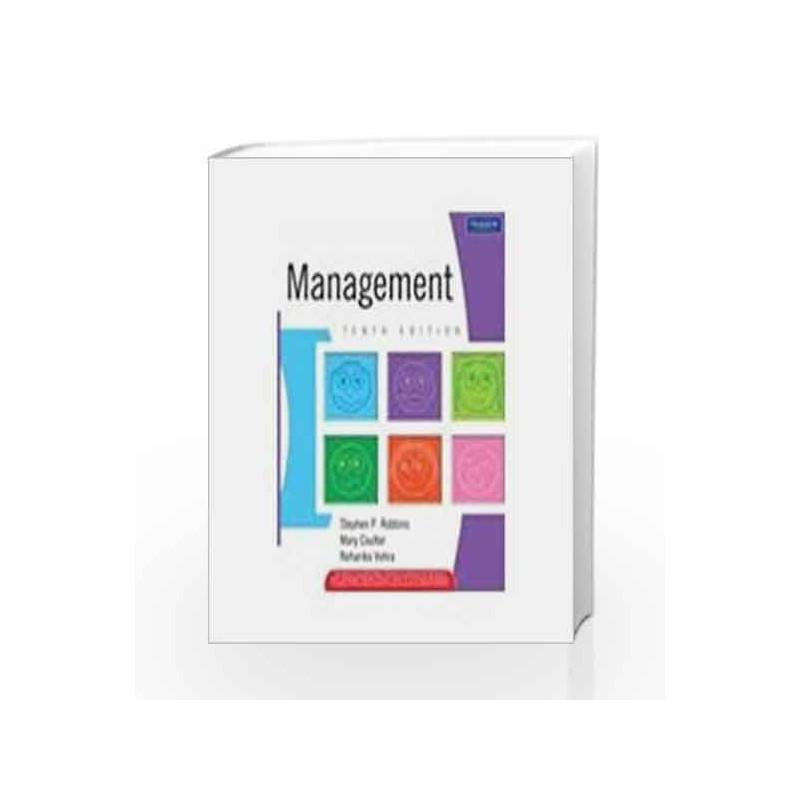 Management, 10e by Robbins/Vohra Book-9788131727201