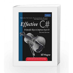 More Effective C# by  Book-9788131729861