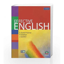 Effective English, 1e by Kumar/ Sreehari Book-9788131731000
