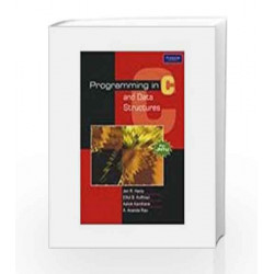 Programming In C And Data Structures (For Jntu) by Elliot B. Koffman Book-9788131731109