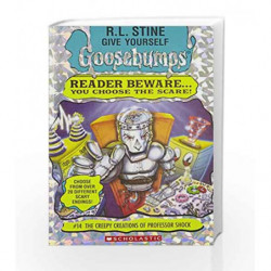 The Creepy Creations of Professor Shock (Give Yourself Goosebumps - 14) by R.L. Stine Book-9780590847742
