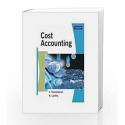 Cost Accounting, 1e by Rajasekaran Book-9788131732076