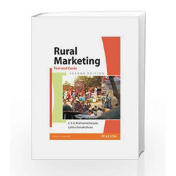 Rural Marketing: Text and Cases, 2e by Krishnamacharyulu Book-9788131732632