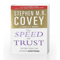 The Speed of Trust: The One Thing that Changes Everything by Stephen M.R. Covey Book-9781847392718