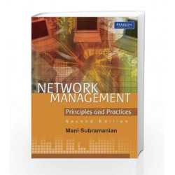 Network Management by Mani Subramanian Book-9788131734049