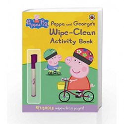 Peppa Pig: Peppa and George's Wipe-Clean Activity Book by Ladybird Book-9781409308621