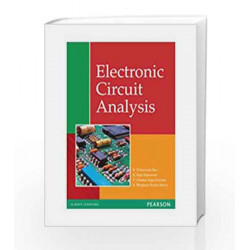 Electronic Circuit Analysis, 1e by Rao Book-9788131754283