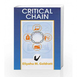 Critical Chain by GOLDRATT ELIYAHUM Book-9788185984148