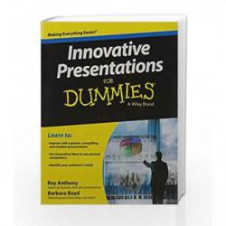 Innovative Presentations for Dummies by Barbara Boyd Book-9788126551279