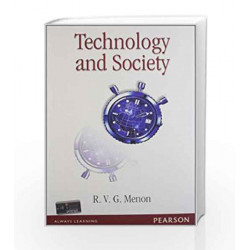 Technology and Society by R.V.G Menon Book-9788131756416