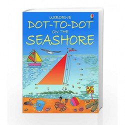 Dot-to-Dot Seashore (Usborne Dot-To-Dot) by Karen Bryant Mole Book-9780746057179