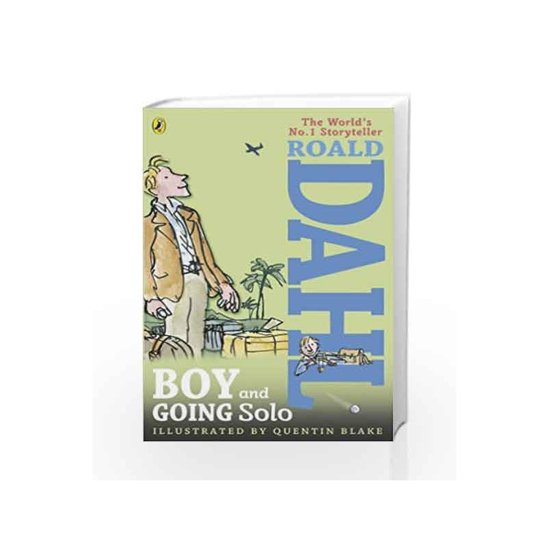 Boy And Going Solo By Roald Dahl Buy Online Boy And Going Solo