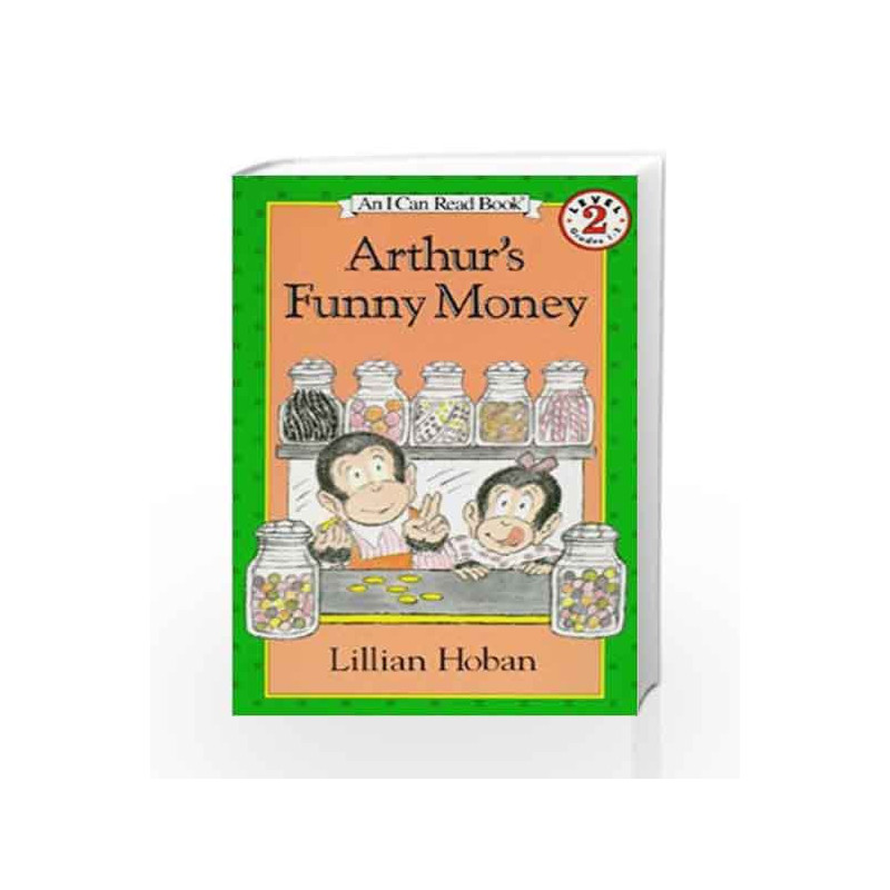 Arthur's Funny Money (I Can Read Level 2) by Lillian Hoban Book-9780064440486